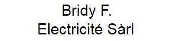 Bridy F. Electricité